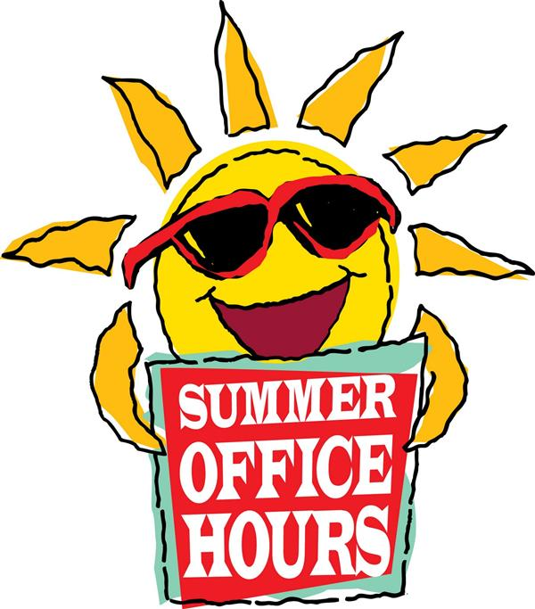 Seventh Avenue Office Summer Hours