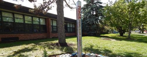 Spring Avenue Peace Pole Photo