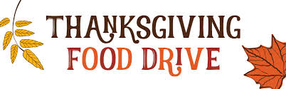 12th Annual 8th Grade Thanksgiving Food Drive