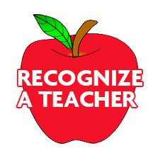 Parents - Recognize a Staff Member