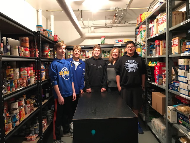 Gurrie's 8th Grade Thanksgiving Food Drive