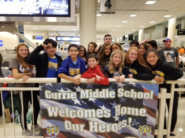 Gurrie Supports Honor Flight Chicago