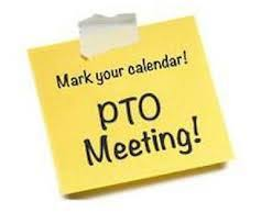 Next PTO Meeting is Monday January 14 at 6:30pm