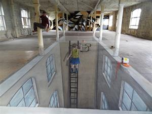 Cons Space 002 BLN, 3d street art