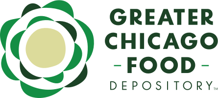 Greater Chicago Food Depository Lunch Bus Program // Programa de Camiones para Almuerzos, del Gran Depósito de Alimentos de Chicago.