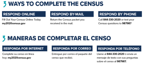 2020 Census Information // Información del censo 2020