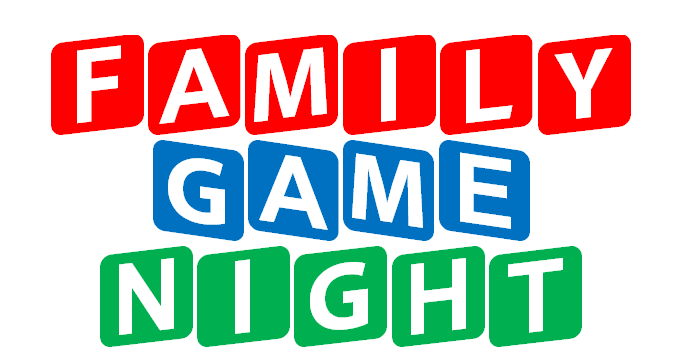 Family Game Nights - Mark Your Calendar